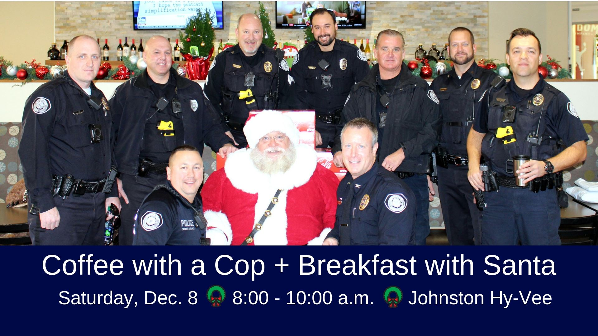 Coffee with a Cop Breakfast with Santa