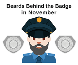 Beard Behind the Badge