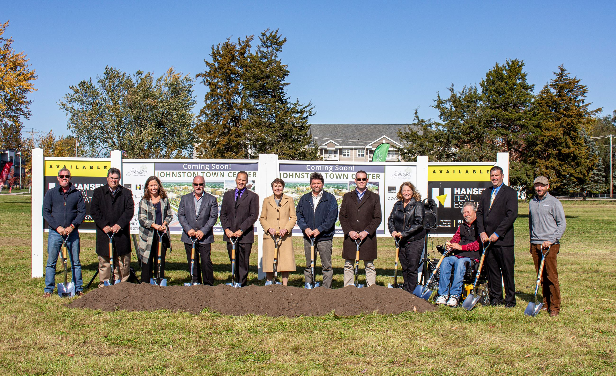 1. Johnston Town Center Groundbreaking_Oct. 2019