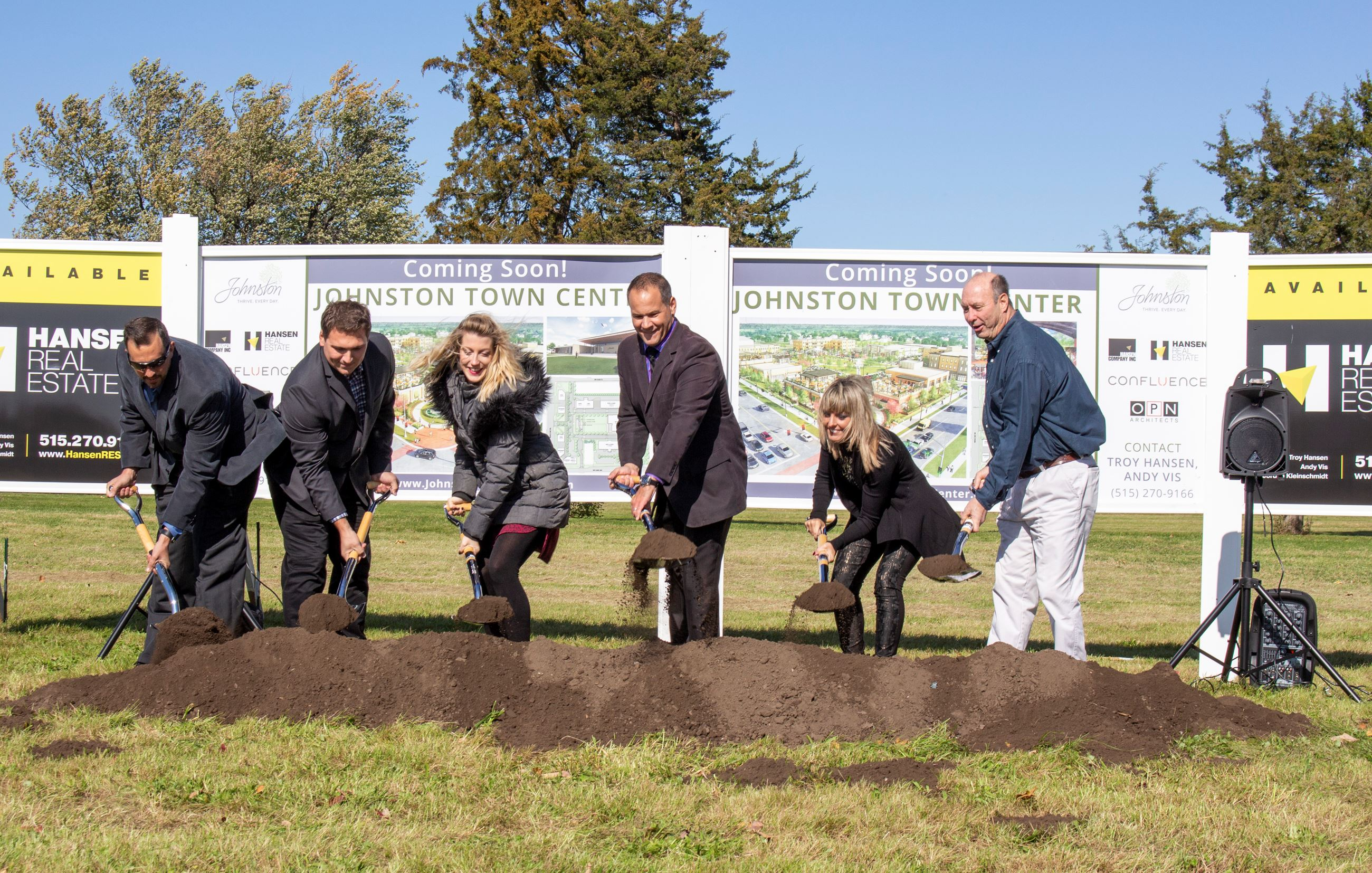 8. Johnston Town Center Groundbreaking_Oct. 2019