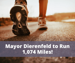 Mayor Will Run 1,074 Miles_250x210