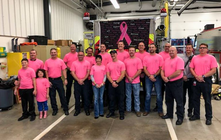 Firefighters Give Back