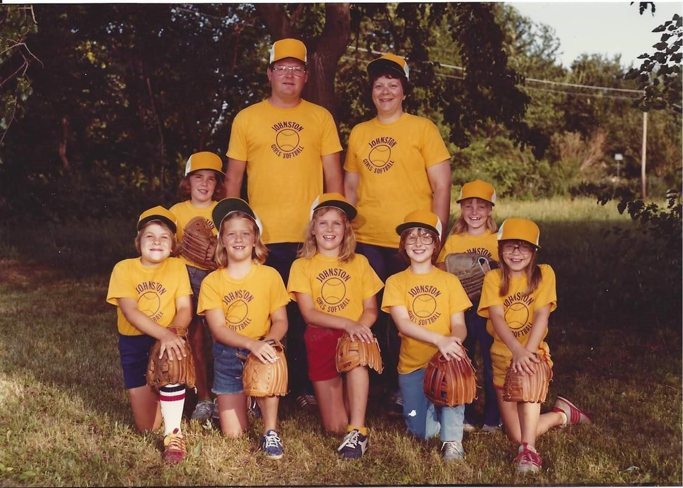 1981 Johnston Girls Softball Camp